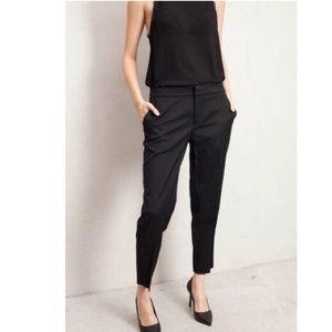 Zara black pants Sz XL